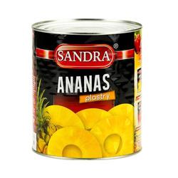 Ananas plastry SANDRA 3050g  | Dua Khoanh To  SANDRA 3050gx6szt