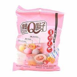 Ciasteczka mochi o smaku owocowym TAIWAN DESSERT 120g | Banh Mochi Mix fruit 120g x 24opak/krt