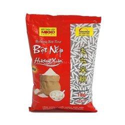 Mąka z ryżu kleistego MIKKO – 1kg | Bot Nep Huong Xua 1kg x 10szt/krt