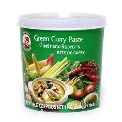 Pasta Curry Zielona COCK BRAND 1kg    Curry Xanh  1kgx12szt/krt
