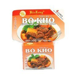 Przyprawa do wołowiny  BAO LONG 75g    Vien bo kho Bao Long 75g x 12szt/opak