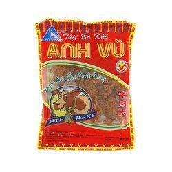 Suszone mięso wołowe ANH VU 87g | Bo Kho Anh Vu Loai Soi 87g x 100szt/krt