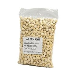 Suszone nasiona lotosu 500g |  HAT Sen Kho 500G 40OP/ kar