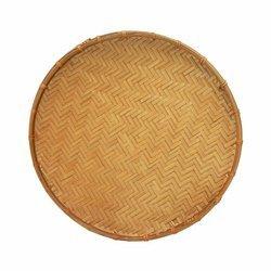 Taca bambusowa okrągła  25cm | Met Nan 25 cm